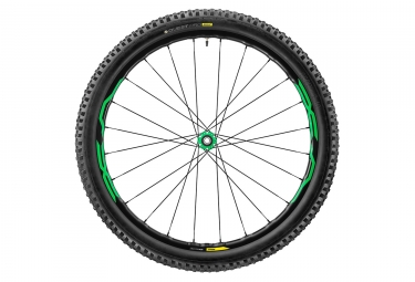 roue avant mavic 2017 xa elite 27 5 15mm quest pro 2 4 vert