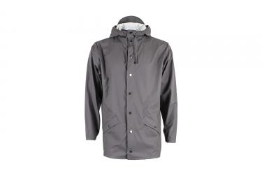 veste rains jacket gris