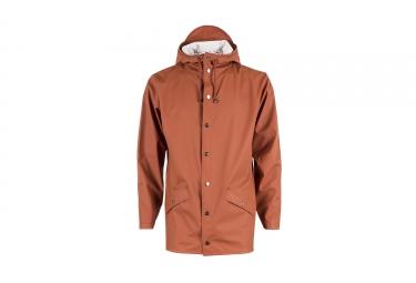veste rains jacket orange