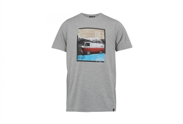 t shirt animal camper gris