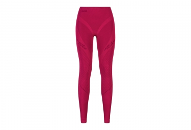 sous pantalon de compression femme odlo muscle force evolution warm rose