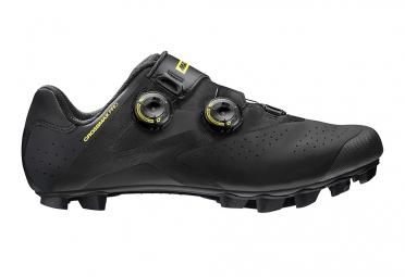paire de chaussures vtt mavic crossmax pro 2017 noir
