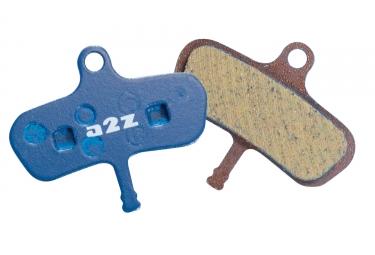 a2z paire de plaquettes organiques avid code 4 pistons anterieur 2011