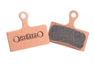 a2z paire de plaquettes semi metalliques shimano xtr m985 xt m785 et slx m666