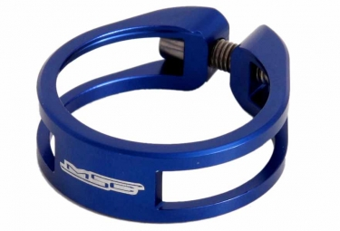 msc collier de selle ecrou light 8 5 gr cnc ti blue 34 9 mm