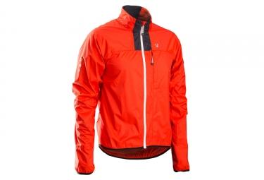 veste bontrager race stormshell rouge bonty
