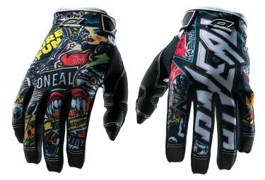 gants longs oneal jump crank noir