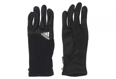 gants hiver femme adidas running climawarm running noir