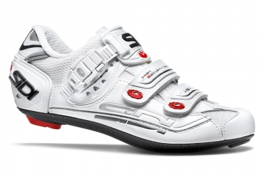 chaussures route femme sidi genius 7 blanc 2017