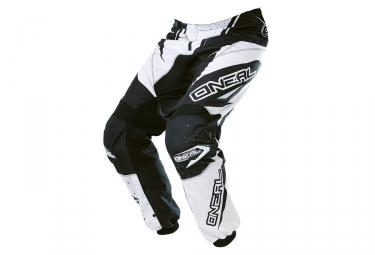 pantalon enfant oneal element racewear blanc noir