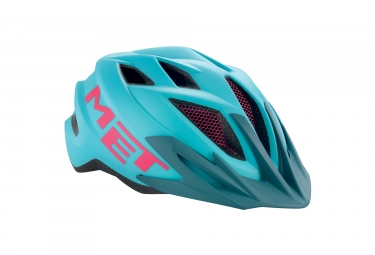 casque met crackerjack bleu rose