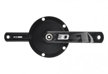 manivelles rotor 3d24 double 130 74mm noir