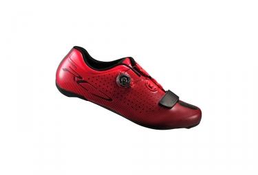 paire de chaussures route shimano 2017 sh rc700 rouge