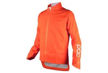 veste impermeable poc avip rain orange