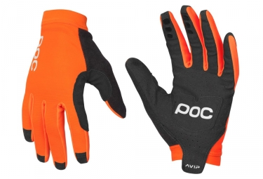 gants longs poc avip orange