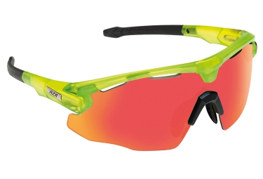 paire de lunettes azr flash rx vert orange