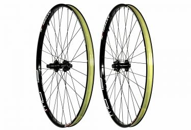 paire de roues asterion notubes ztr flow mk3 29 15x100mm 12x142mm sram xd