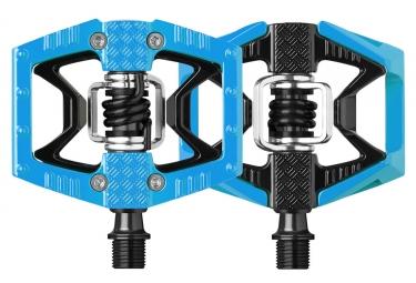 paire de pedales crankbrothers double shot bleu noir