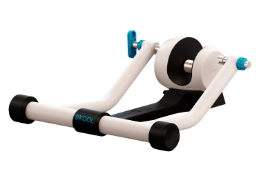 bkool smart go home trainer white