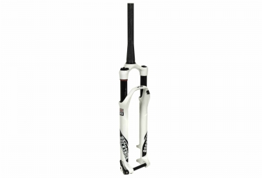 fourche rockshox sid wc 27 5 15mm solo air conique offset 42 2017 blanc