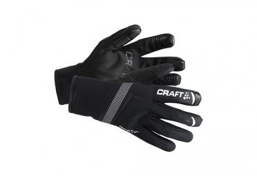 gants hiver craft shelter noir