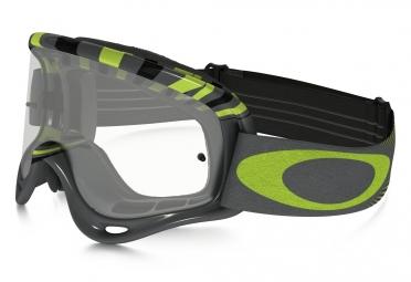 masque oakley o frame mx gris vert transparant oo7029 16