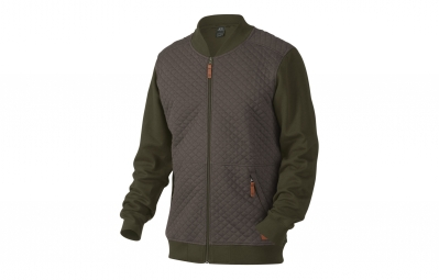 veste polaire oakley chips thermal fz vert kaki
