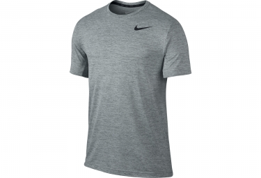 maillot homme nike dri fit dry gris homme