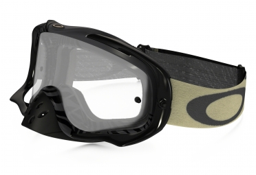 masque oakley crowbar mx animalistic noir blanc transparant 59 403