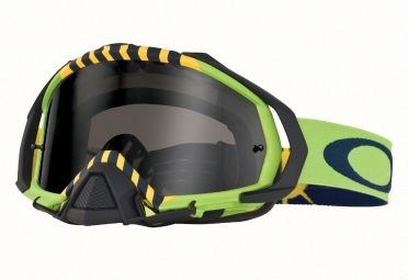 masque oakley mayhem pro tld flight serie royal aces vert noir fume oo7051 19