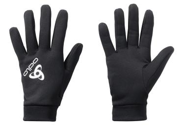 paire de sous gants odlo stretchfleece noir