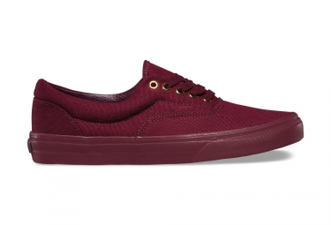 paire de chaussures vans era mono gold port royale