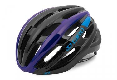 casque giro foray noir bleu violet