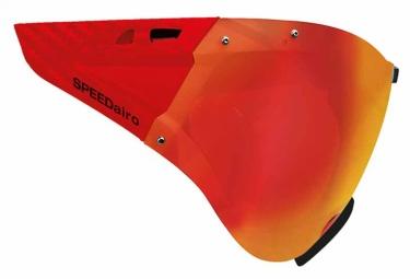 visiere casco speedmask rouge