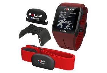 polar v800 pack javier gomes noya special edition hr cadence rouge