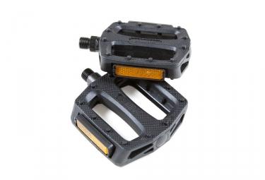 paire de pedales plastiques wellgo b109 noir