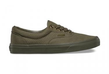paire de chaussures vans era gold mono kaki