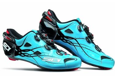 chaussures route sidi shot 2017 bleu sky noir