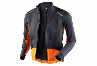 veste coupe vent x bionic spherewind bt 2 1 noir orange