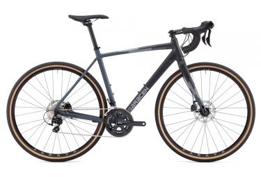 gravel bike saracen hack in black shimano 105 11v noir 2017