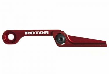 rotor patte anti deraillement reglable cnc rouge
