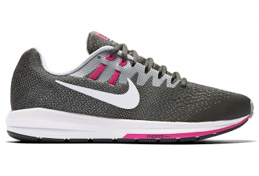 nike air zoom structure 20 gris rose femme