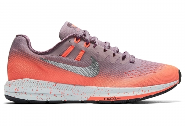 nike air zoom structure 20 shield rose femme