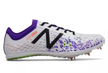 new balance md800 v5 spike blanc violet femme