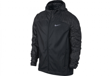 veste coupe vent homme nike shield flash noir