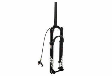 fourche rockshox sid xx solo air 2017 27 5 29 boost 15x110mm conique noir mat