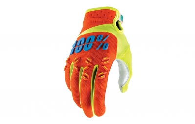 gants long 100 airmatic orange