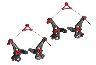 paire d etrier de freins trp revox carbon cyclo cross noir