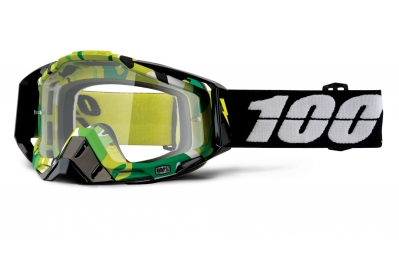 masque 100 racecraft bootcamp camo ecran transparent
