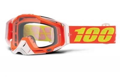 masque 100 racecraft razmataz orange ecran transparent